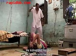 Village girl abused by richman